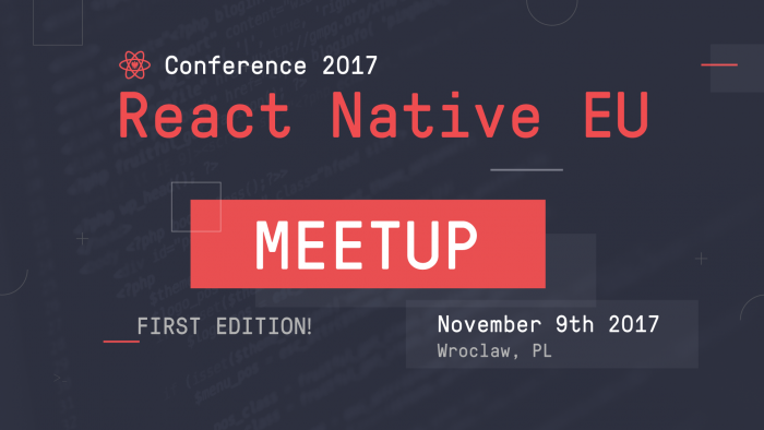 Post image: React Native EU On Tour