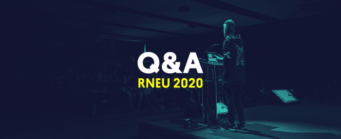 Post image: Q&A Sessions from React Native EU 2020