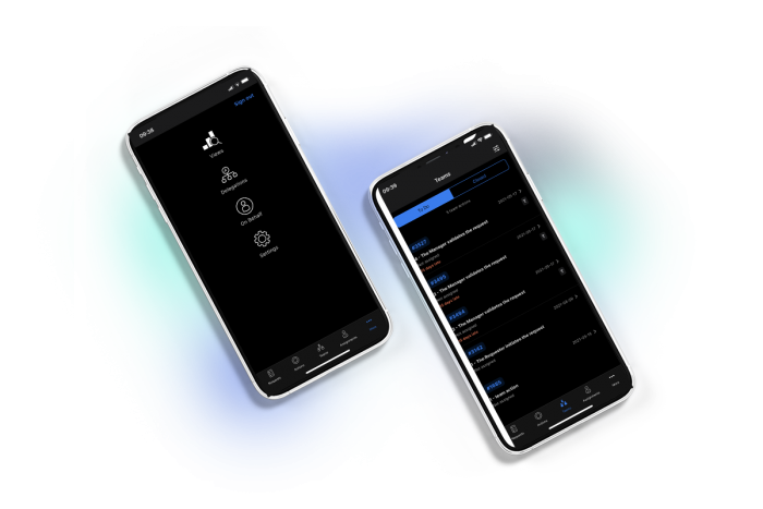 advantys workflowgen mobile app dsrk mode screens